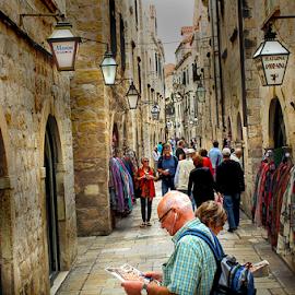 by Branko Cesnik - City,  Street & Park  Street Scenes