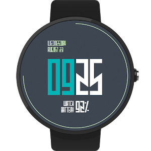 Electron Watch Face FWF