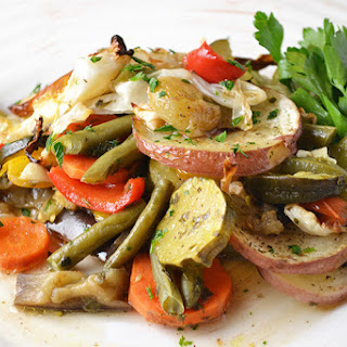 Middle Eastern Vegetable Bake