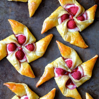 Raspberry Cream Cheese Puff Pastry Recipes