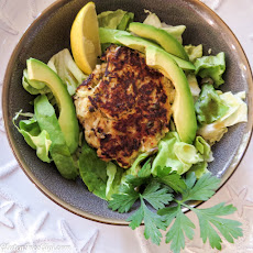 Simple Zucchini Salmon Cakes