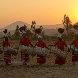 DRUMMERS by Nanda Ban - People Musicians & Entertainers ( drummers )