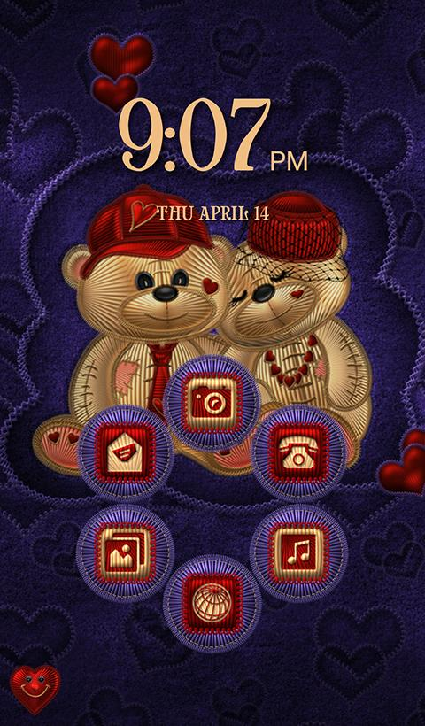 TSF NEXT TEDDY BEAR THEME Screenshot 4