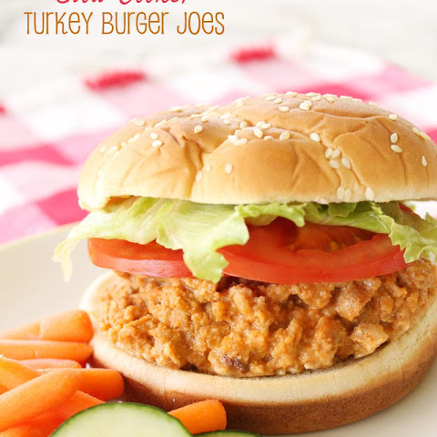 Slow Cooker Turkey Burgers
