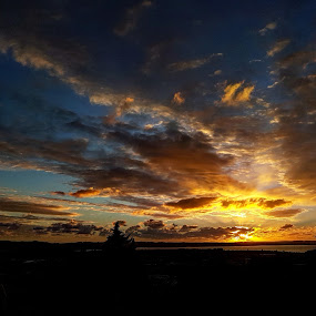 Sunset landscape by Zhenya Philip - Landscapes Sunsets & Sunrises ( colour, nature, sunset, landscape, photography,  )