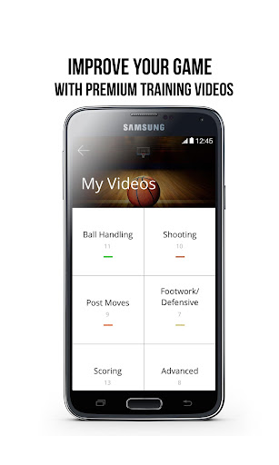 Evolve Basketball App - screenshot