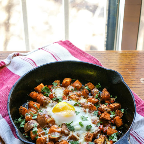 Mexican Sweet Potato Skillet Hash