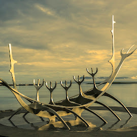Sun Voyager by Ríkarður Óskarsson - Artistic Objects Education Objects