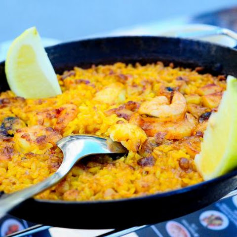 Throw-It-All-In Leftover Paella