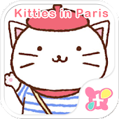 App Cat Wallpaper-Kitties in Paris apk for kindle fire