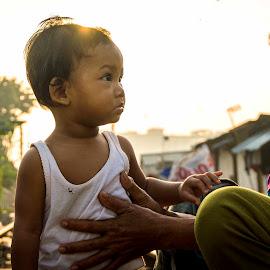 Mother & Son by Miko Adji - People Family ( mother, 2015, jakarta, son, manggadua, miko, KidsOfSummer )