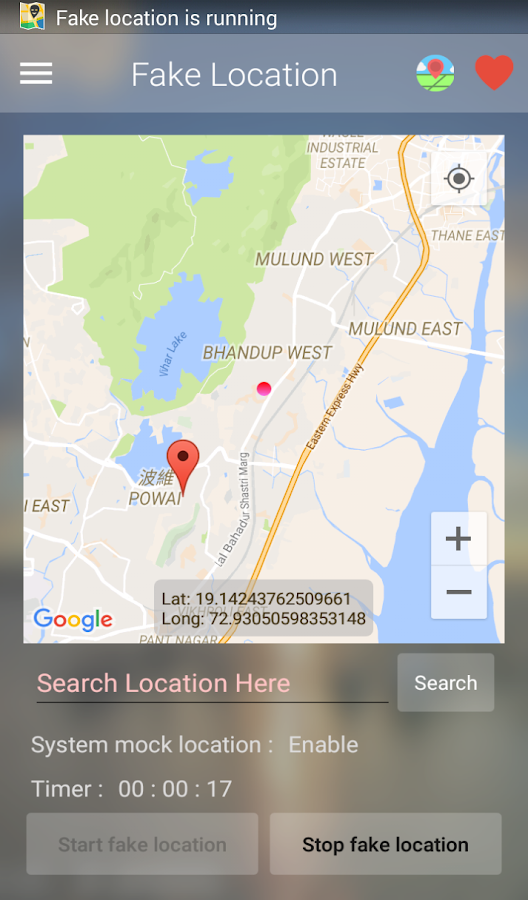 Fake Location PRO (Mock GPS) Screenshot 2
