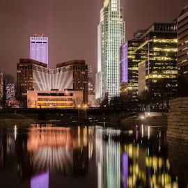 Omaha by Adam C Johnson - City,  Street & Park  Skylines