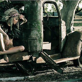 Czech Model Denisa  by Terrence Credlin - People Fashion