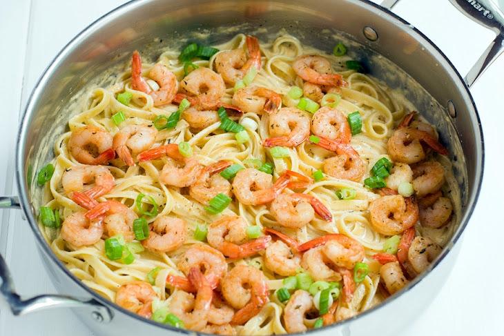 Cajun Shrimp Fettuccine Alfredo Recipe | Yummly