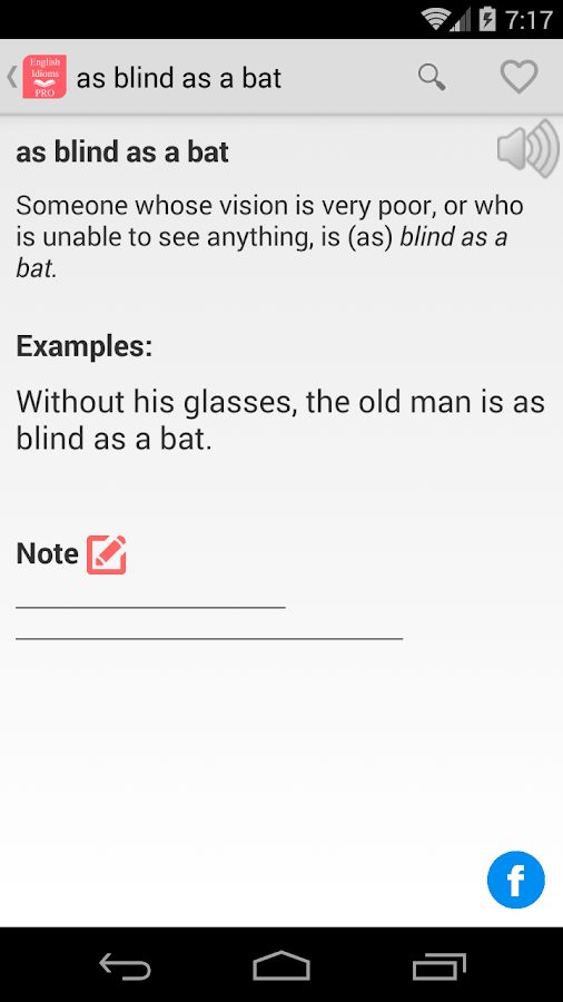 English Idioms Pro Screenshot 5