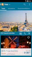 Screenshot of Viator Tours & Activities