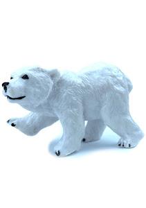 "Игрушка-фигурка серии ""Город Игр"", белый медведь S"