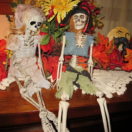 Skeleton Crew by Marcia Taylor - Public Holidays Halloween (  )