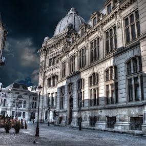 Old Town Bucurest by Димитър Чобанов - Buildings & Architecture Public & Historical ( bucuresti, dracula, romania, bucurest )