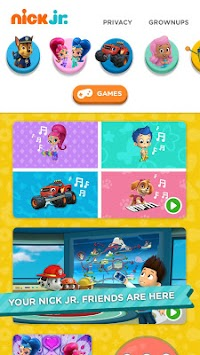 Nick Jr. - Shows & Games APK screenshot thumbnail 1