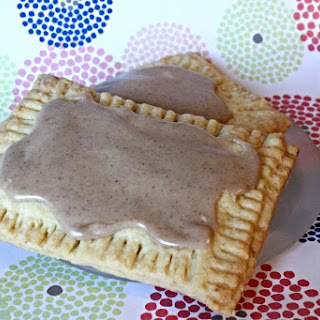 Brown Sugar Cinnamon Poptarts - Vegan Adaptable