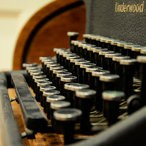 Dusty Type by Lacy Gillott - Artistic Objects Antiques ( keyboard, typewriter, board, type, writer, antique, key, antiques )