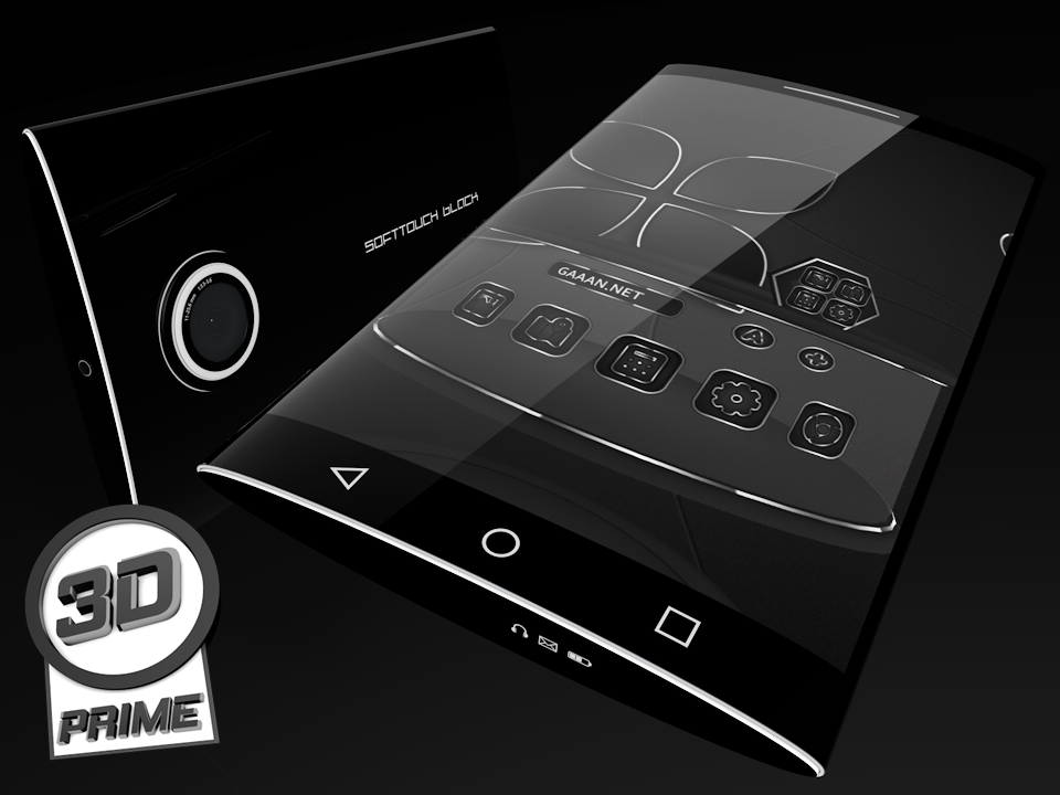 SoftTouch Black - Next Theme Screenshot 3