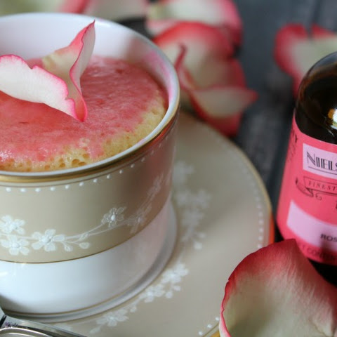 How to Make a Rose Water Mug Cake