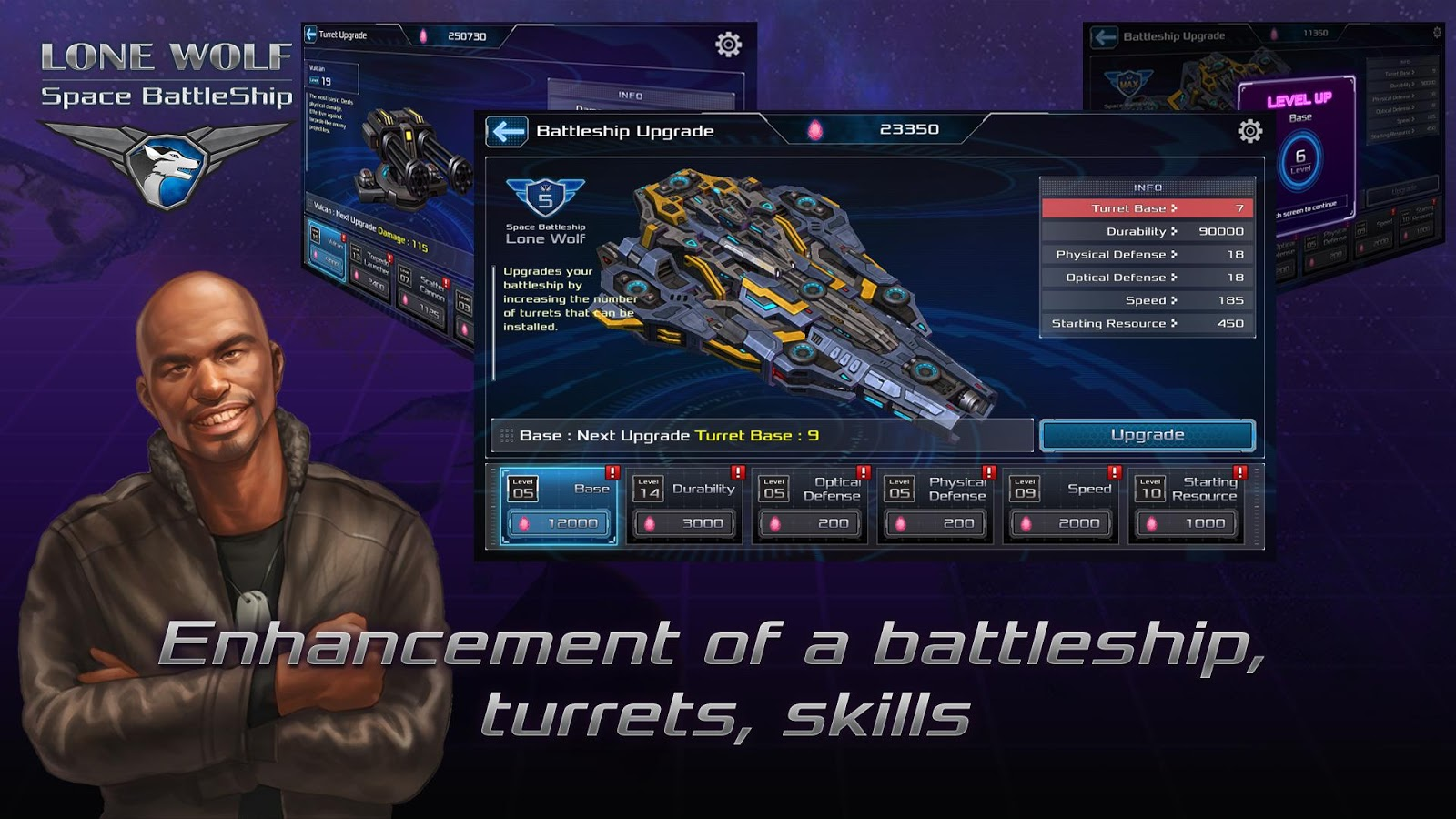 Battleship Lonewolf - Space TD Screenshot 3