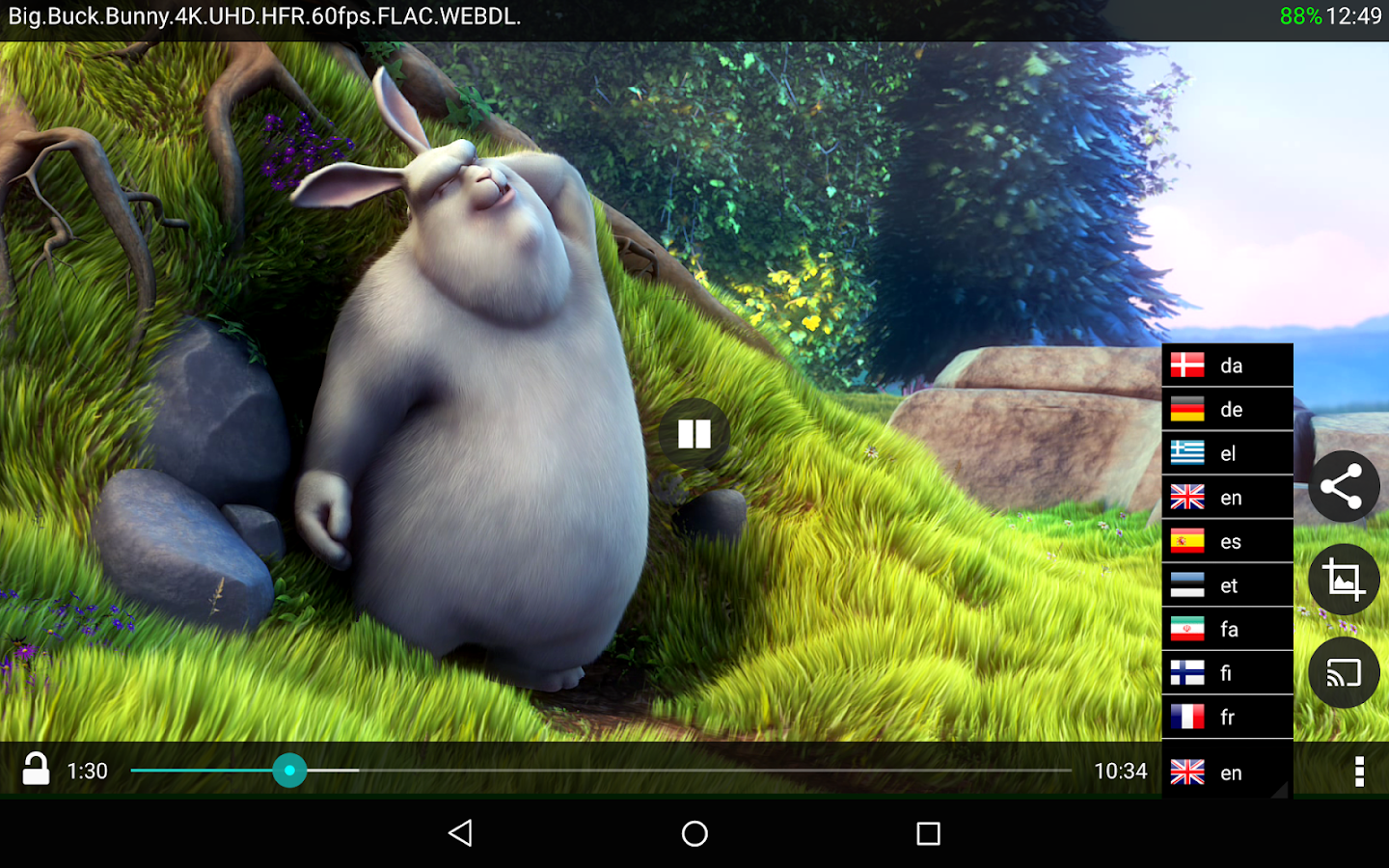 BitX Torrent Video Player Pro Screenshot 9