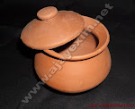 Clay Small Curd Pot