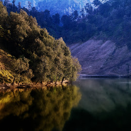 Ranu kumbolo Lake by Rochmad Hidayat - Novices Only Landscapes