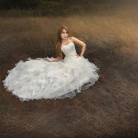 l.o.v.e by G-en Are Lock Stuck - Wedding Bride