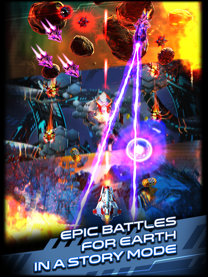 Space Warrior: The Origin Screenshot 5
