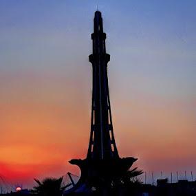 Minar-e-Pakistan Lahore Pakistan by Ahsan  Niaz - Buildings & Architecture Public & Historical