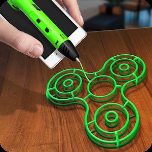 Make Fidget Spinner 3D Pen For PC
