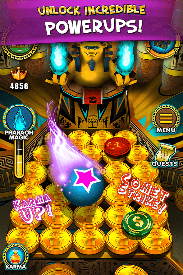 Pharaoh's Party: Coin Pusher Screenshot 2