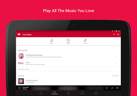 iHeartRadio Free Music & Radio APK for Ubuntu
