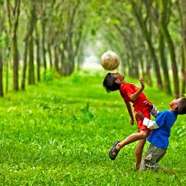 soccer kids by Toni Panjaitan - Sports & Fitness Soccer/Association football ( kids )