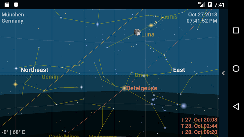 Astrolapp Live Planets and Sky Map Screenshot 1