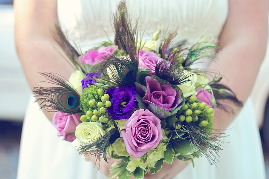 Peacock Bouquet by Mallory Walsh-Ruggiero - Wedding Other
