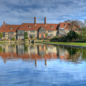 Wisley gardens by Aleksey Maksimov - Landscapes Travel ( building, uk, hdr, wisley, pond,  )