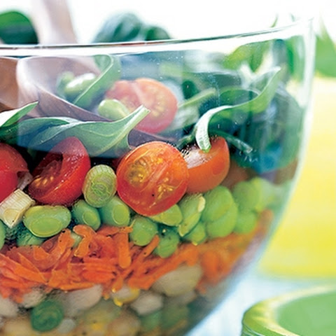 24-Hour Layered Bean Salad