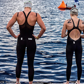 FINA World Cup Open Water 10K Roberval 2016 by Rick Pelletier - Sports & Fitness Swimming