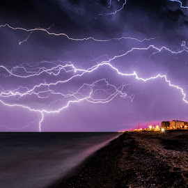 Thunderstorm by Emanuele Zallocco - Landscapes Weather
