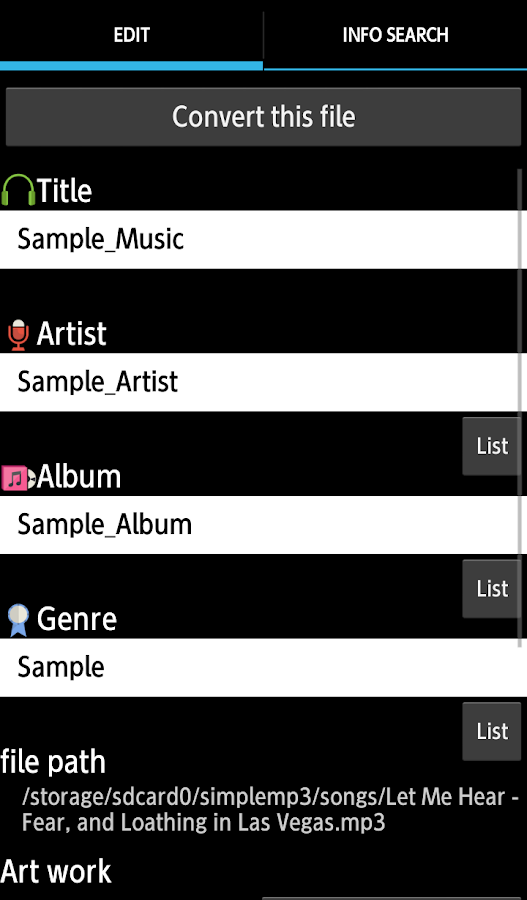 TK Music Tag Editor -Complete- Screenshot 1