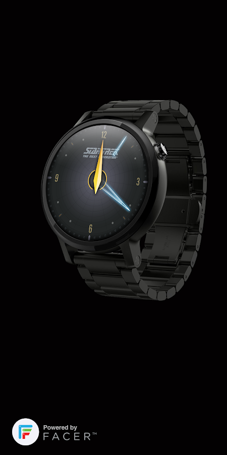 Star Trek official watchface 1 Screenshot 2