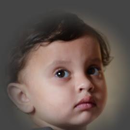 Armaan, my grandson. by Pradeep Kumar - Babies & Children Child Portraits