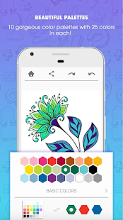 Game Coloring Book For Adults - Mandala Coloring APK for Kindle